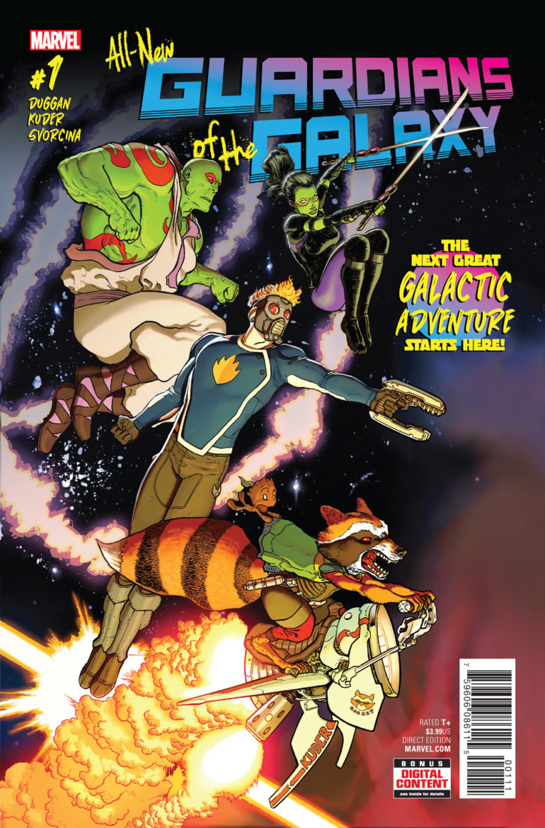All New Guardians of the Galaxy 1 Cover