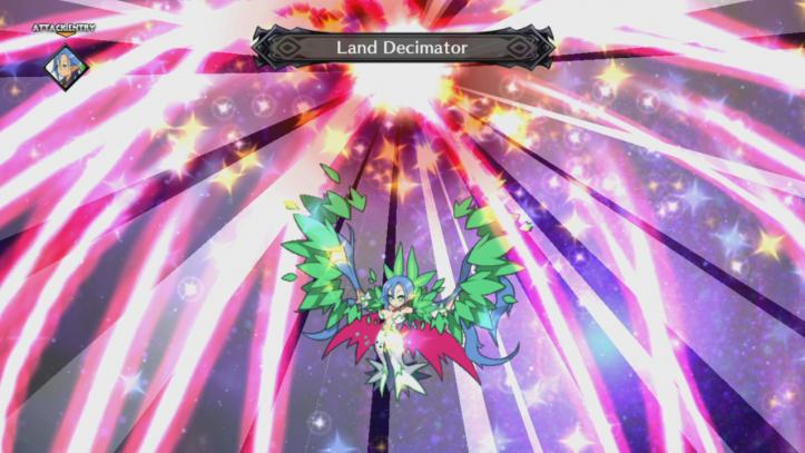 Disgaea 5 Complete - Land Decimator attack