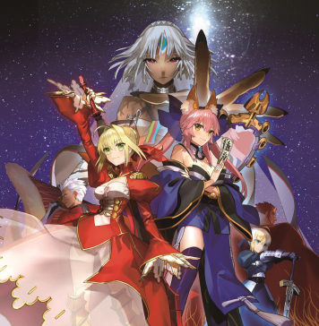 Fate/EXTELLA: The Umbral Star - key art 02