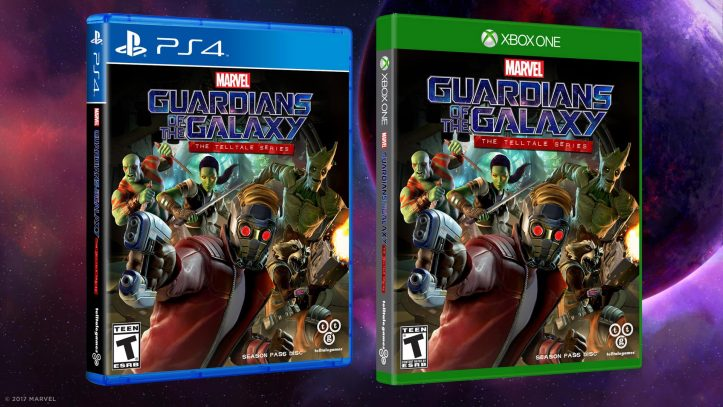 Marvel's Guardians of the Galaxy - packshots