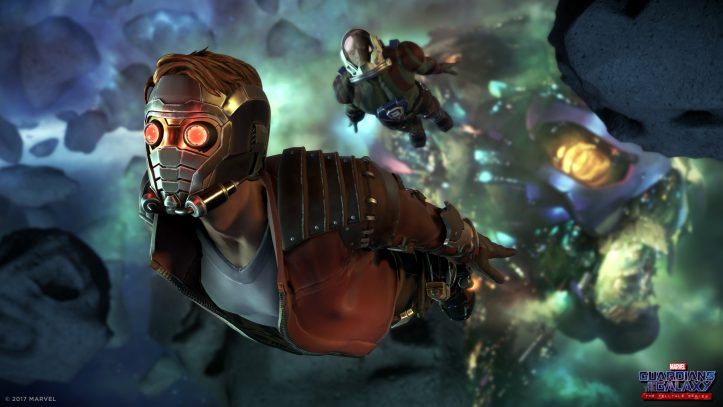 Marvel's Guardians of the Galaxy: The Telltale Series - space chase