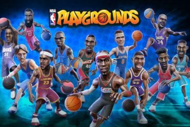 NBA Playgrounds Key Art