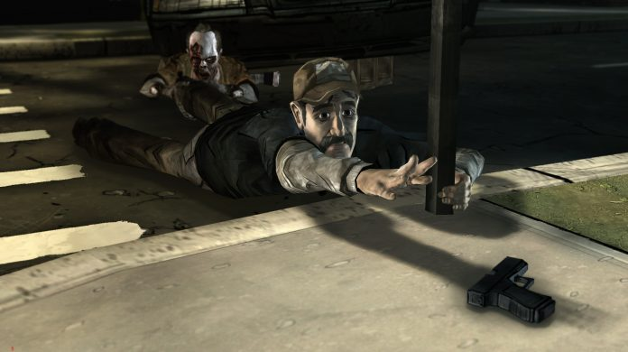 The Walking Dead: Season 1 - kenny in trouble