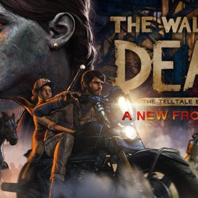 The Walking Dead A new Frontier - Finale logo full