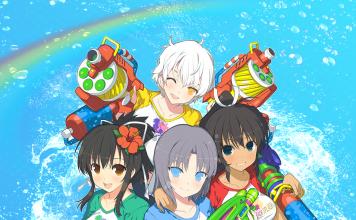 Senran Kagura Peach Beach Splash - key art