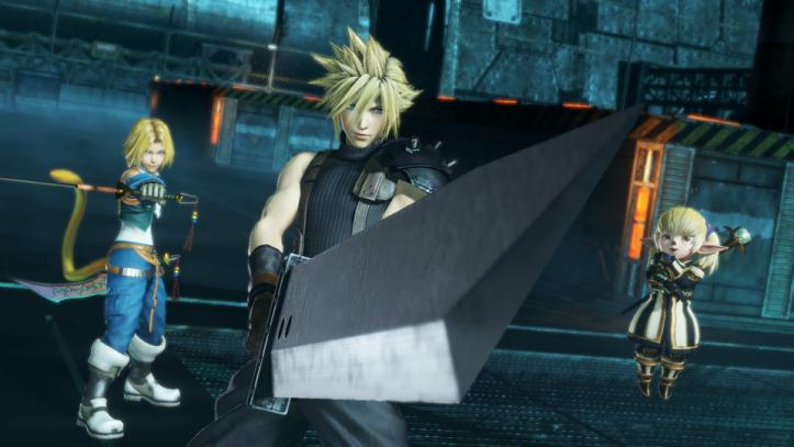 Dissida Final Fantasy NT - Team 2