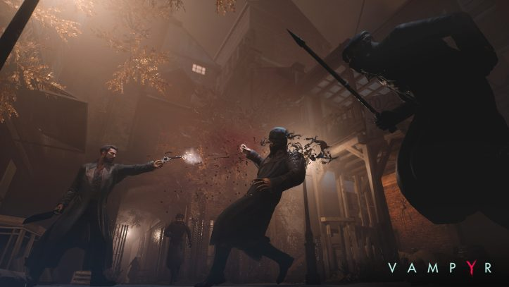 Vampyr - gunshot