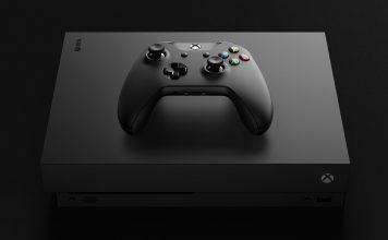 Xbox One X - console