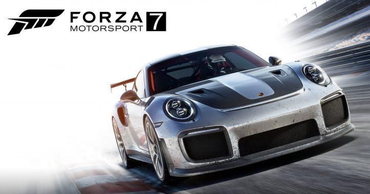 Xbox One X - forza motorsport 7
