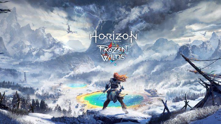Horizon Zero Dawn: The Frozen Wilds - keyart