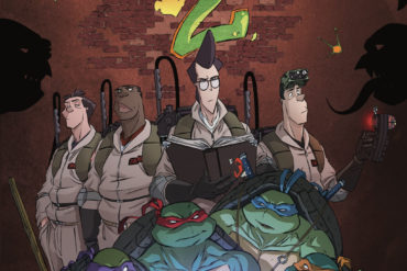 TMNT Ghostbusters IDW