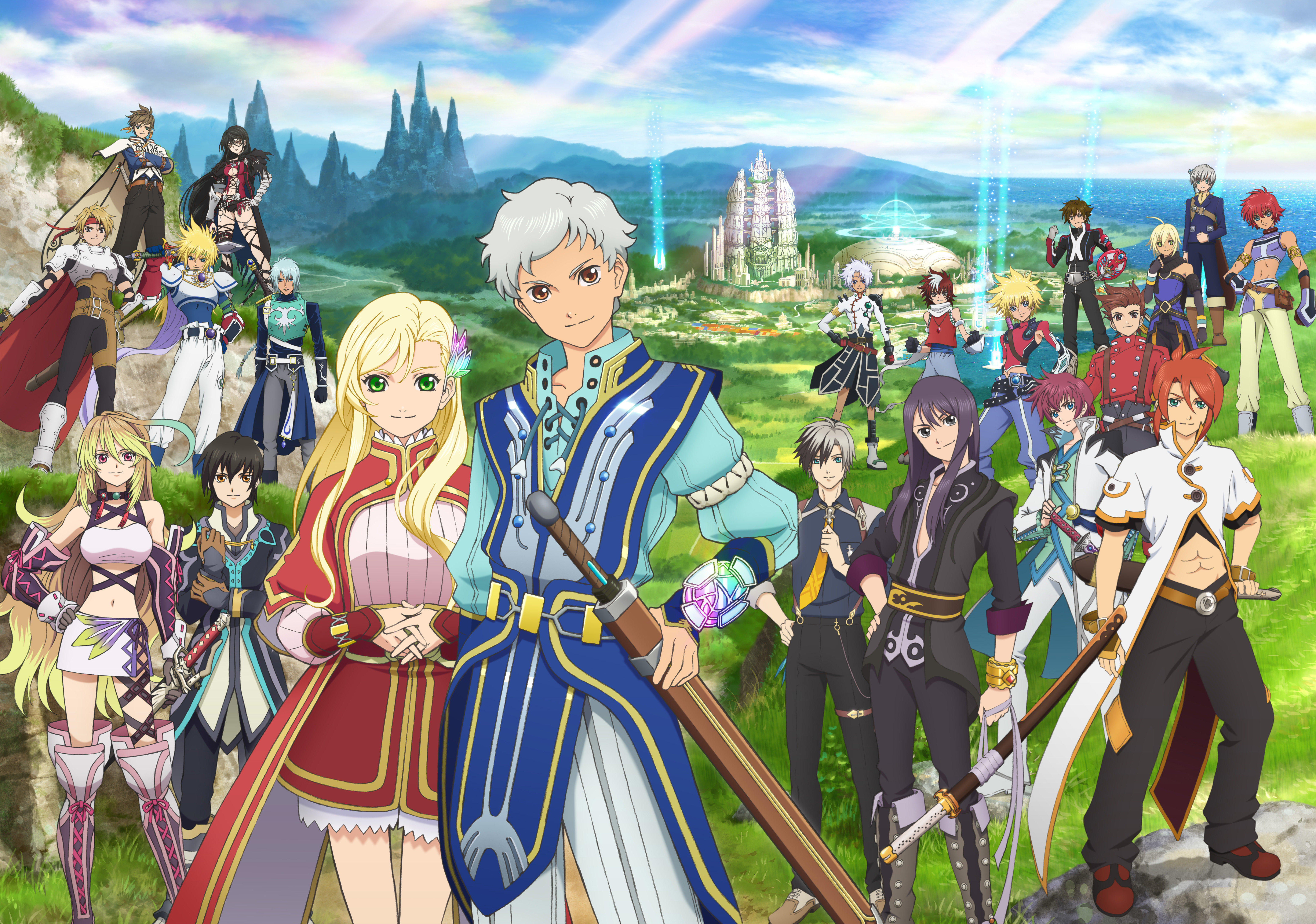 Tales of the Rays - key art