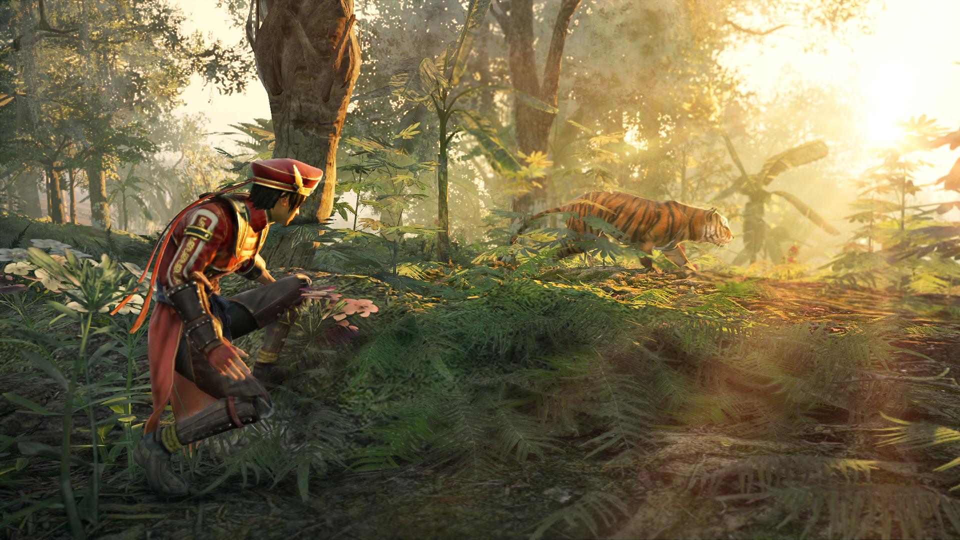 Dynasty Warriors 9 - tiger