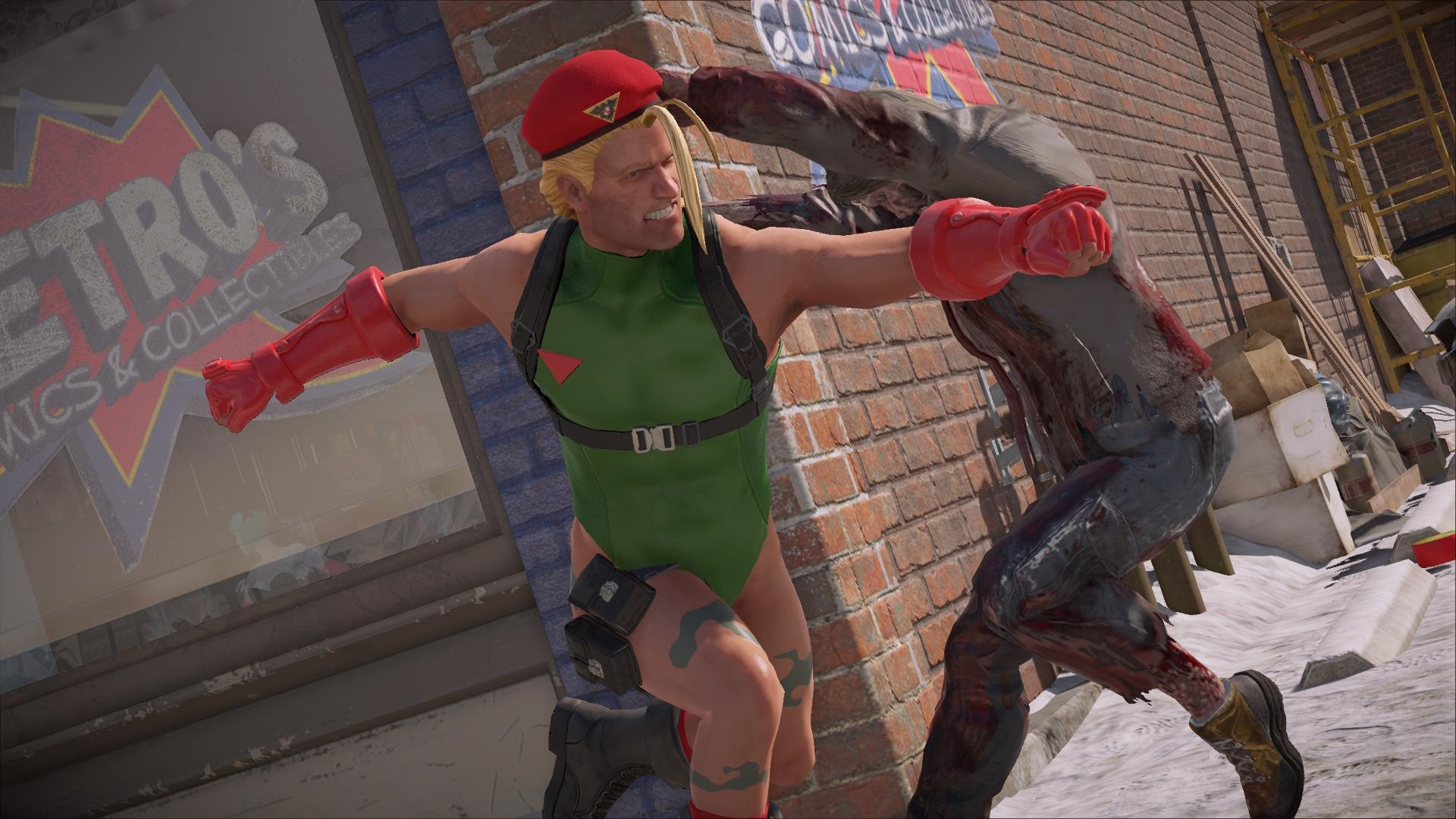 Dead Rising 4: Frank's Big Package - Cammy West?