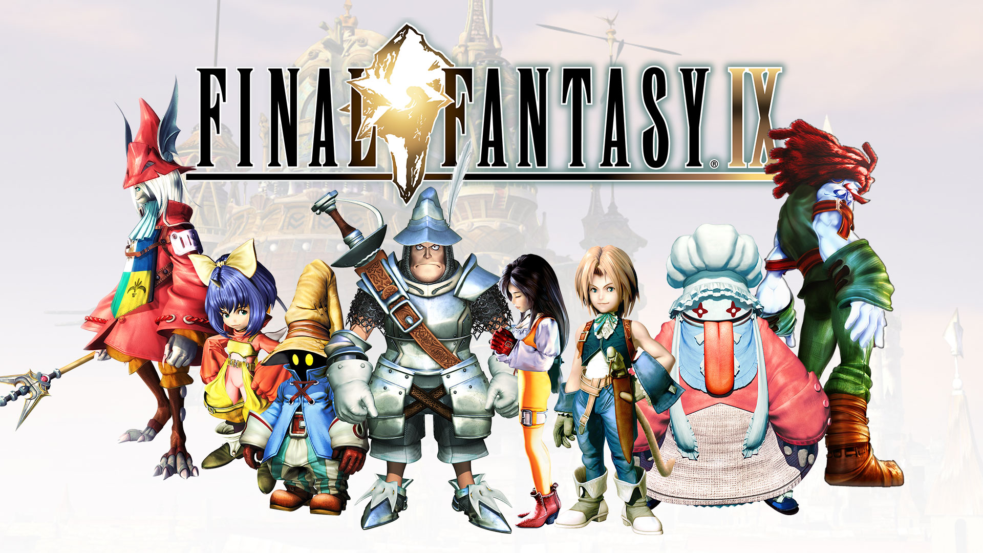 Final Fantasy IX - key art