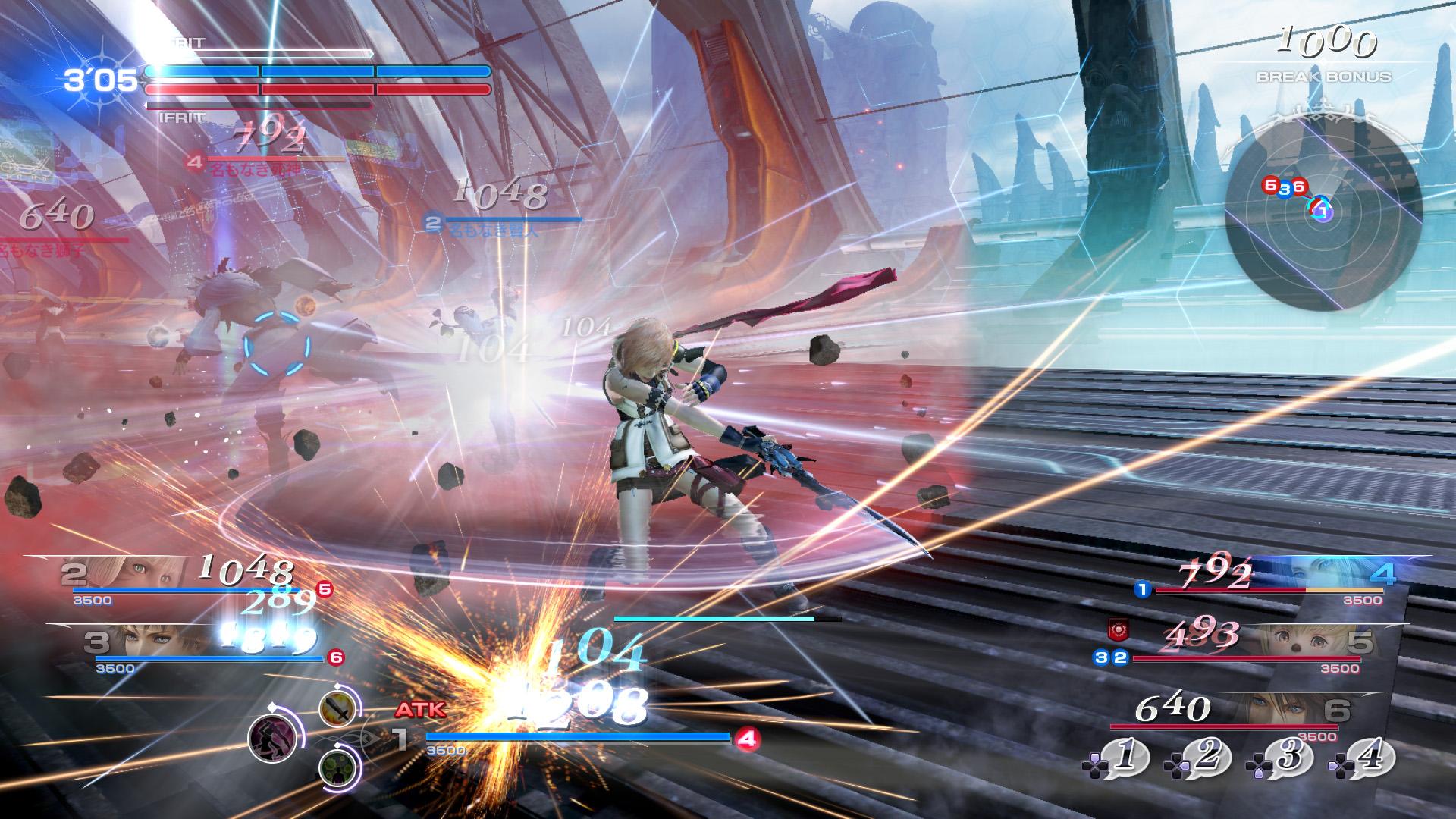 Dissida Final Fantasy NT - Lightning
