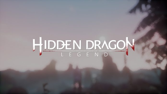 Hidden Dragon Legend - logo