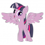 Twilight Sparkle Pin
