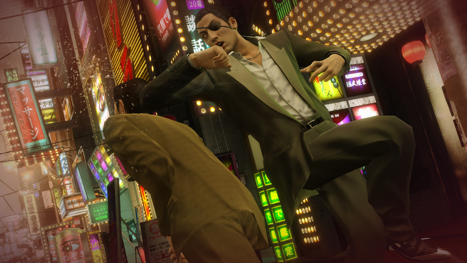 Yakuza 0 - Majima heat action