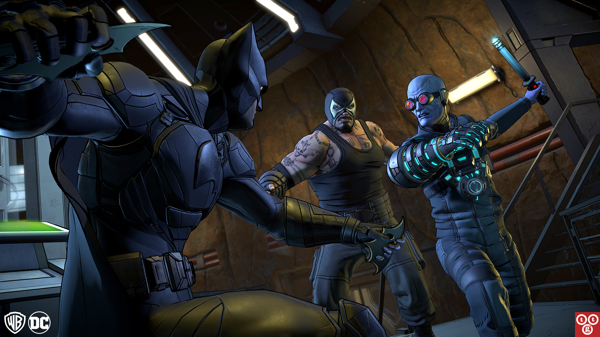 Batman: The Enemy Within - Ban and Mr. Freeze