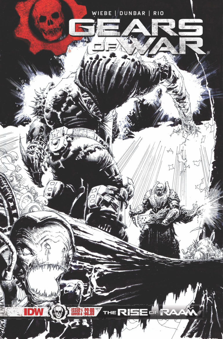 Gears of War Rise of RAAM 2nd Printing