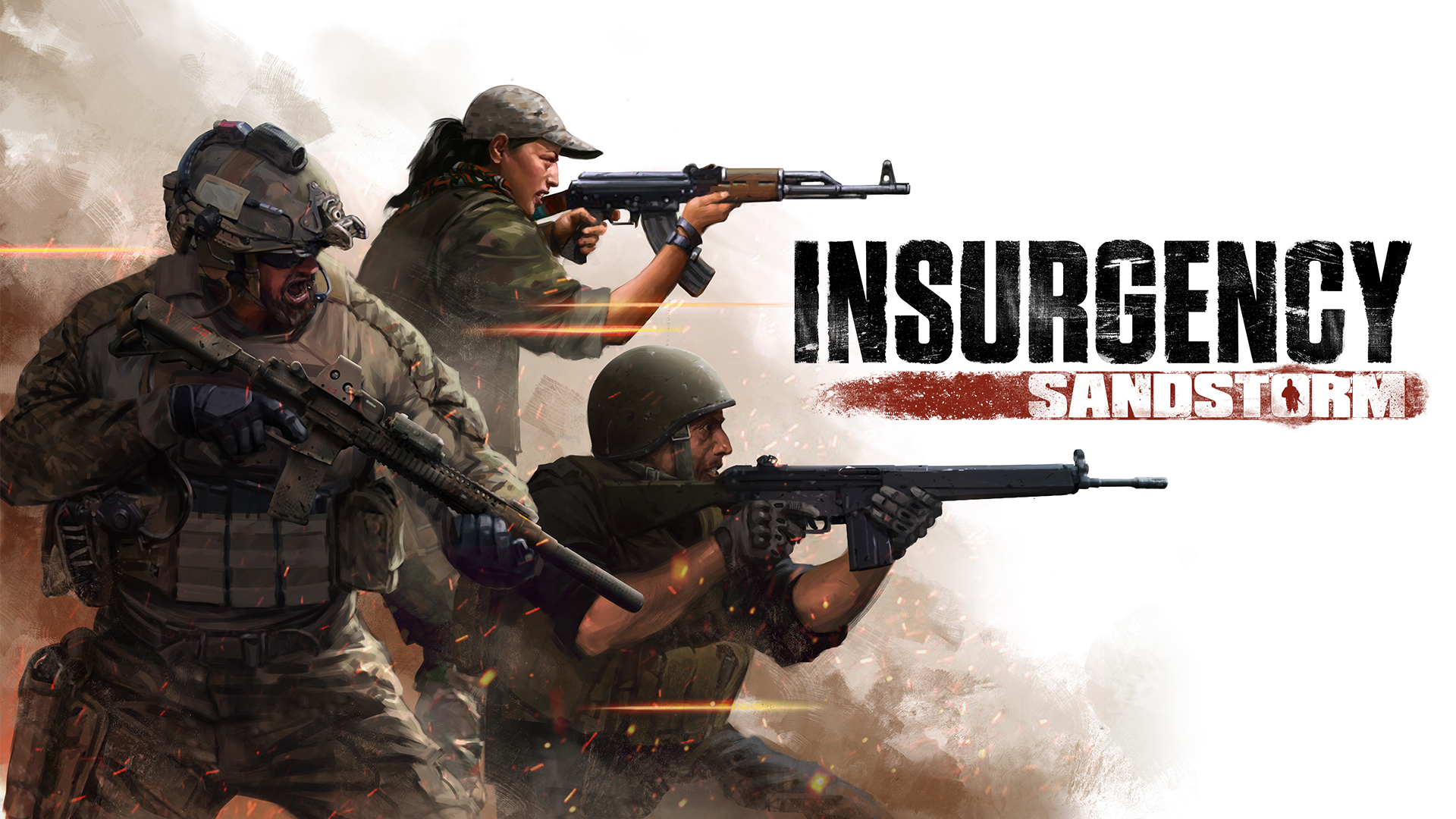Insurgency: Sandstorm - key art