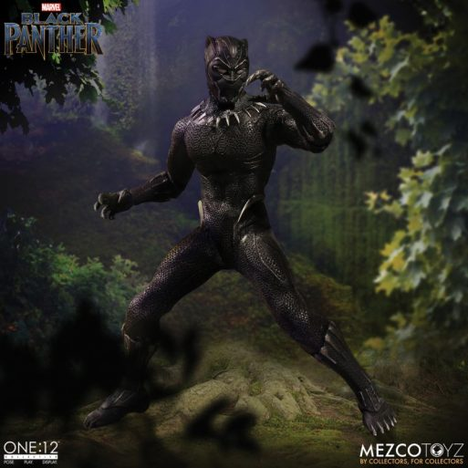 Mezco One12 Black Panther 4
