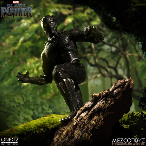 Mezco One12 Black Panther 5