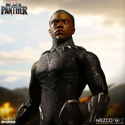 Mezco One12 Black Panther 7