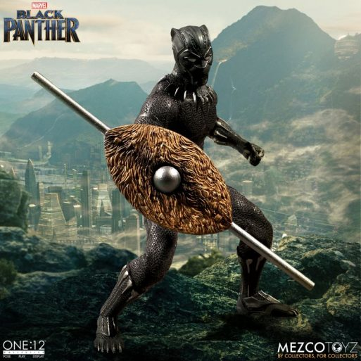 Mezco One12 Black Panther