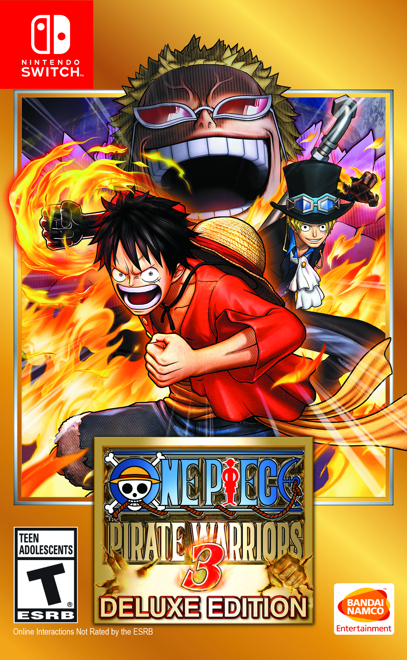 One Piece Pirate Warriors 3 - Nintendo Switch Box