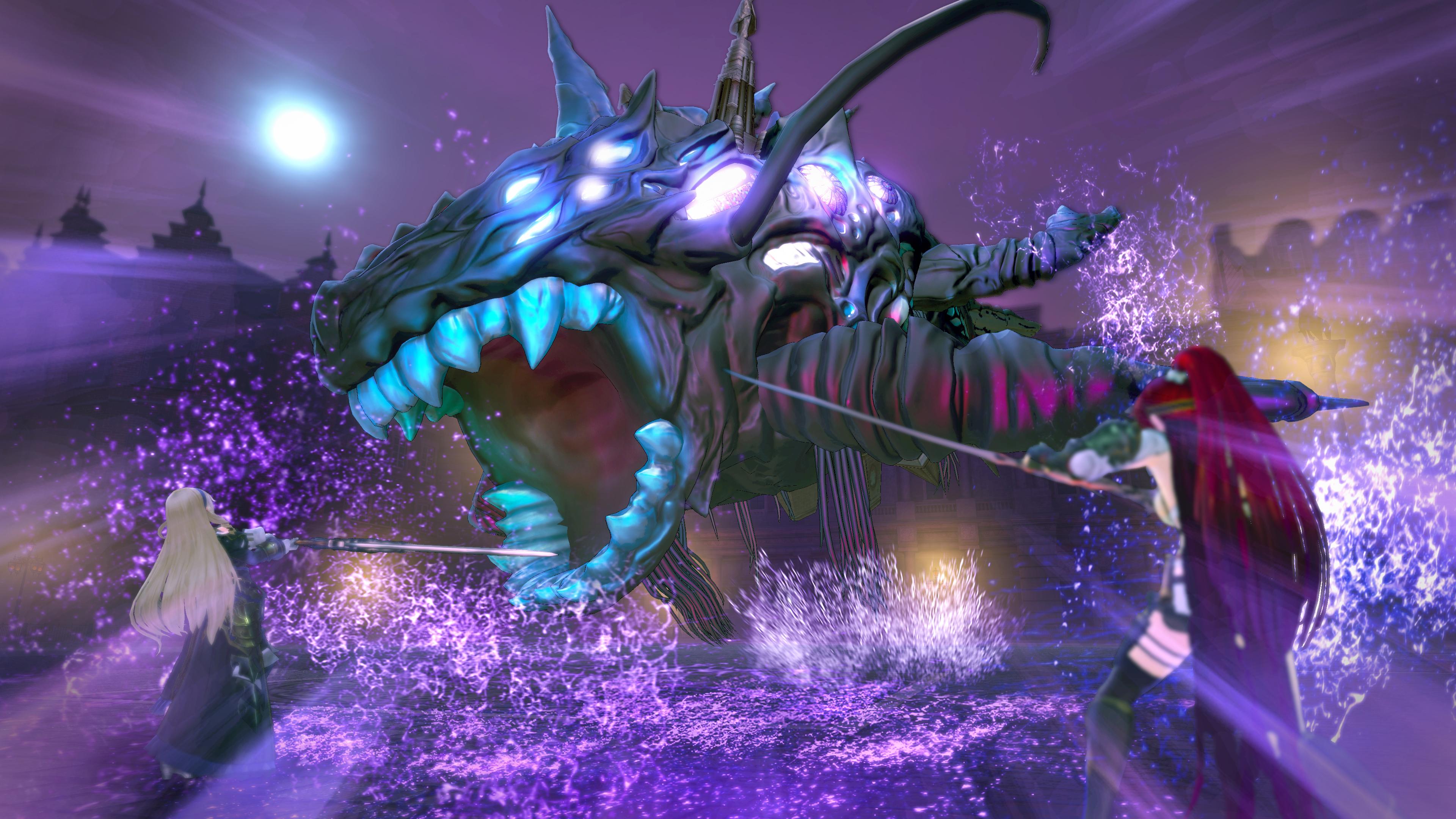 Nights of Azure 2: Bride of New Moon - monstrous