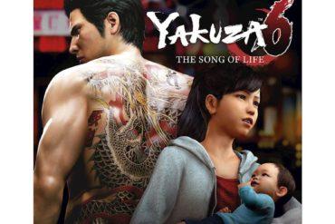 Yakuza 6: The Song of Life - box art