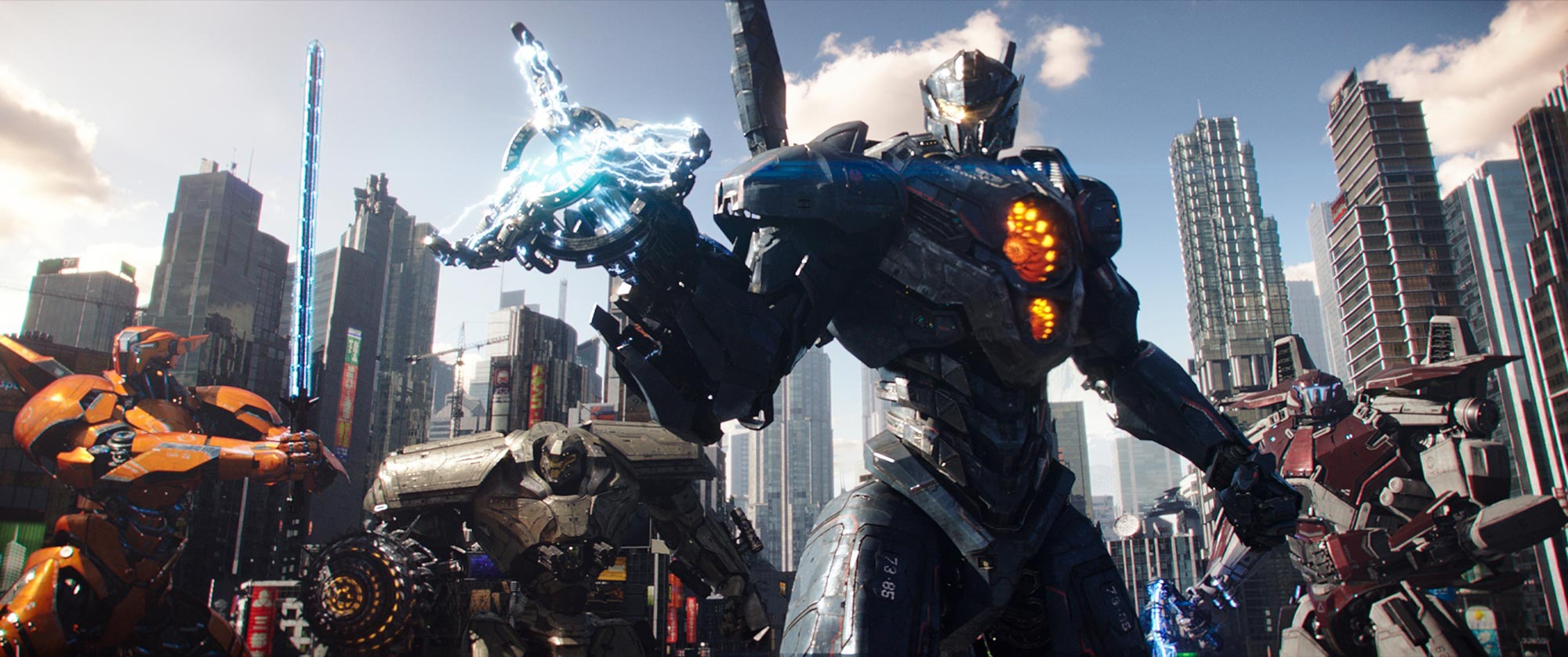 Pacific Rim Uprising - weapons
