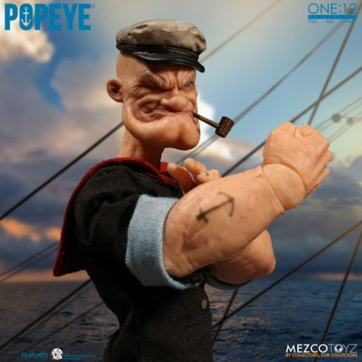 Mezco Popeye 9