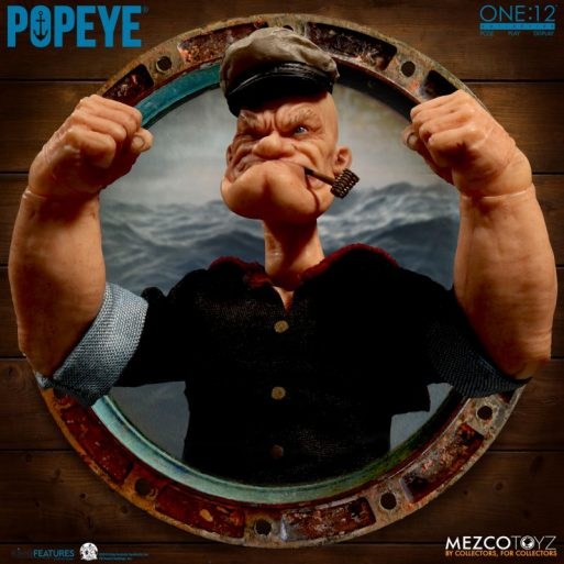Mezco Popeye 6