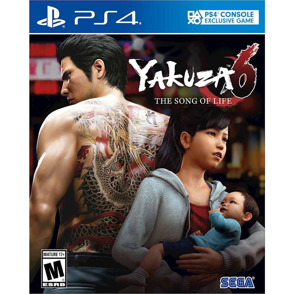 Yakuza 6: The Song of Life - packshot