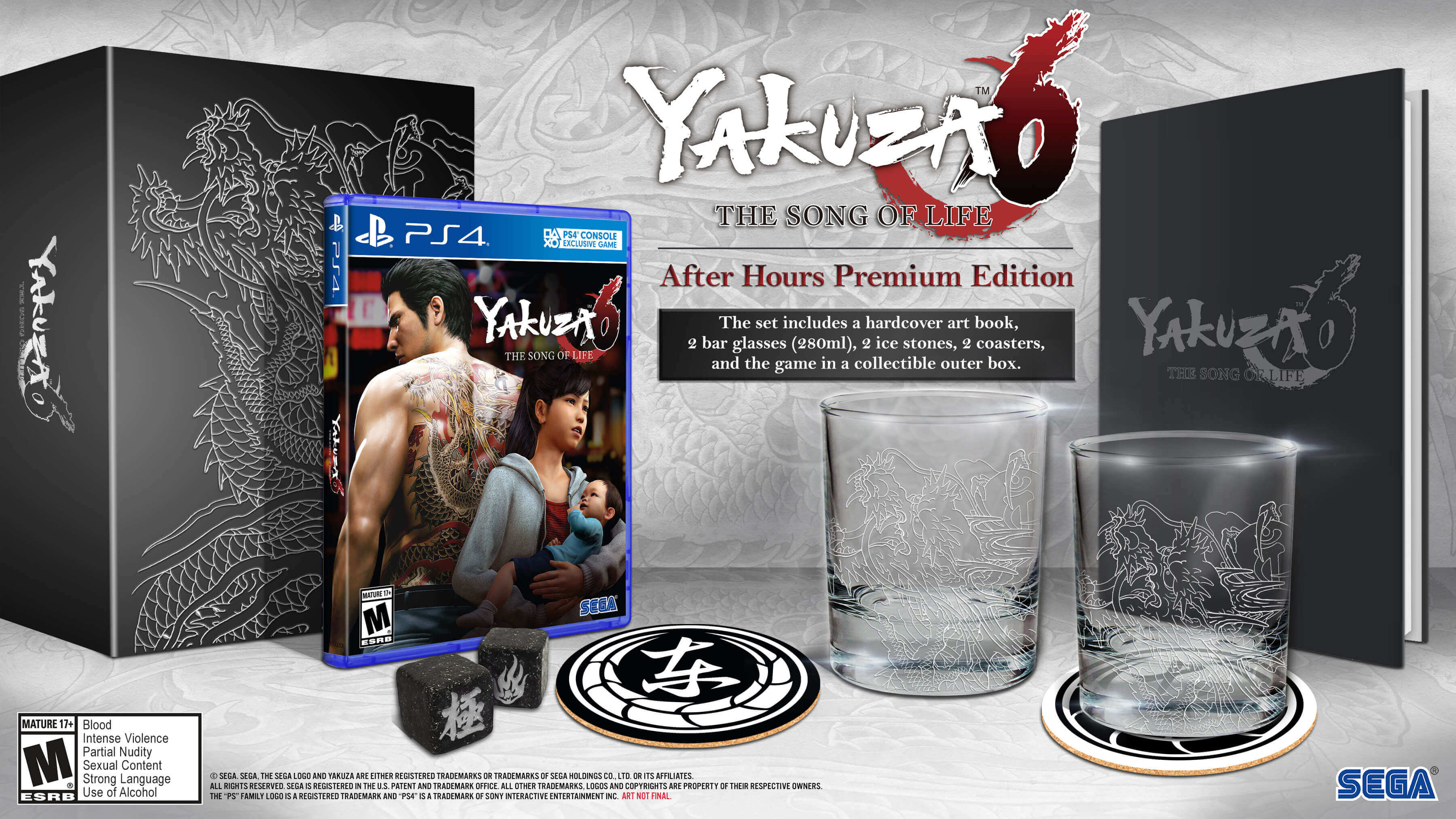 Yakuza 6: The Song of Life - limited edition