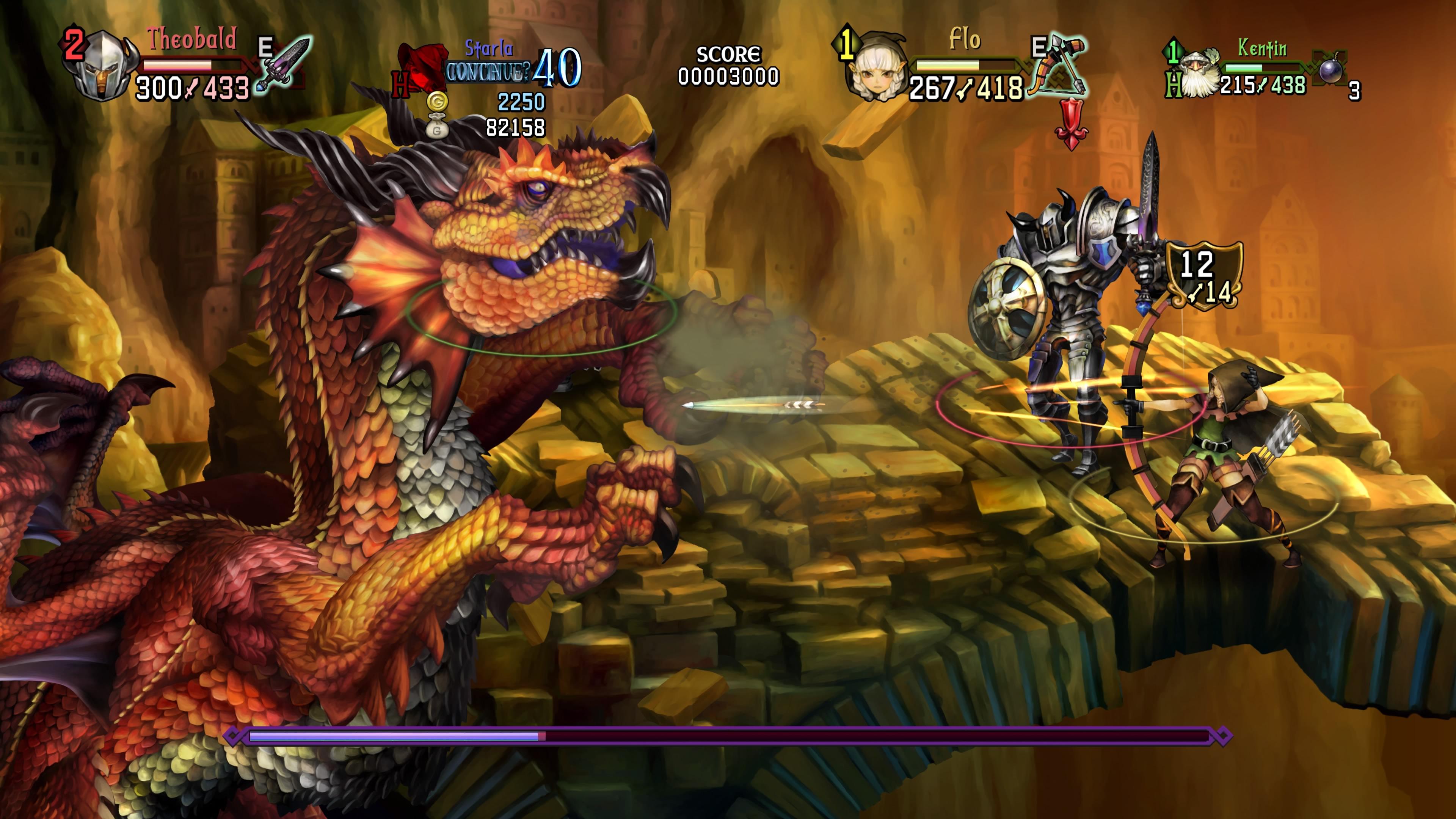 Dragon's Crown Pro - Dragon battle