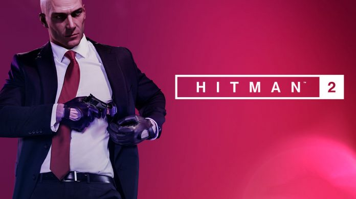 HITMAN 2 - key art