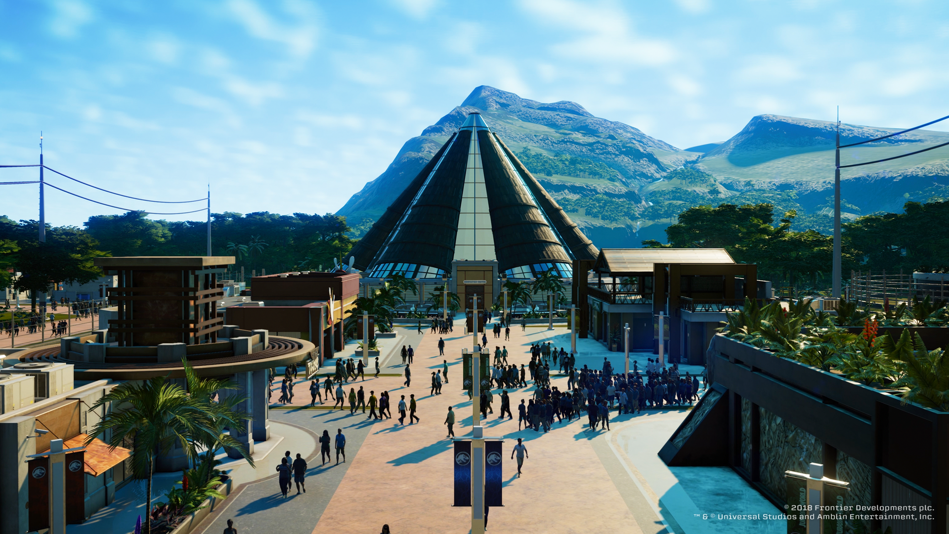 Jurassic World Evolution - in the beginning