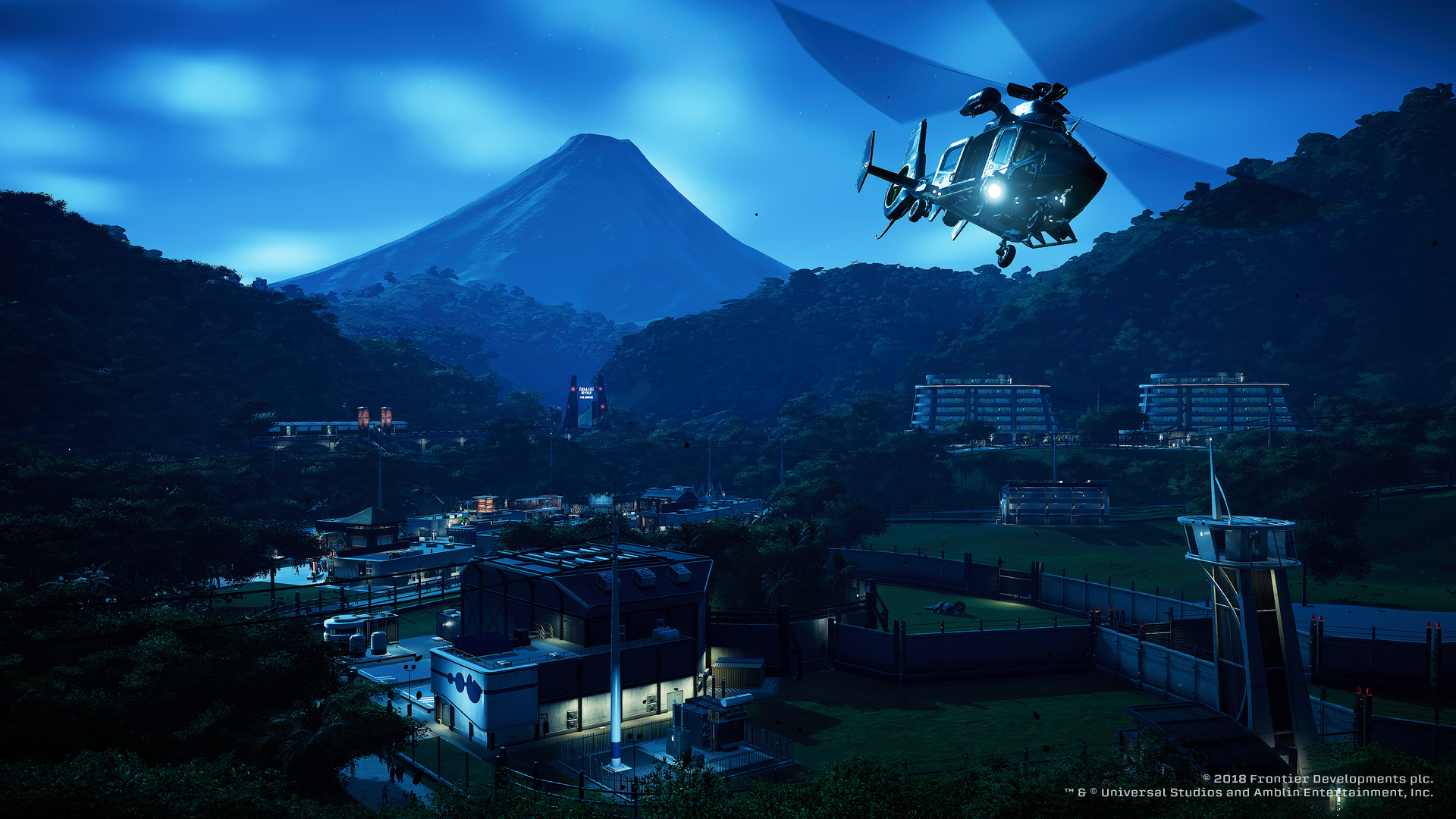 Jurassic World Evolution - ACU chopper