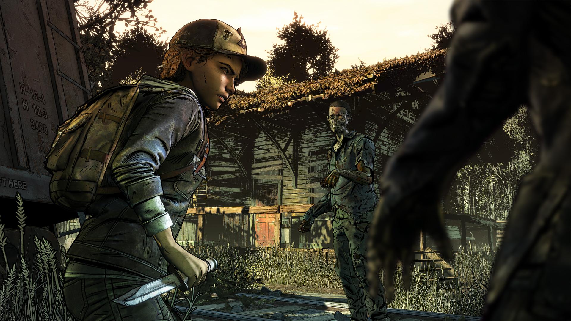 The Walking Dead: The Final Season - Clem in trouble