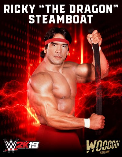 WWE2K19 Roster Ricky The Dragon Steamboat