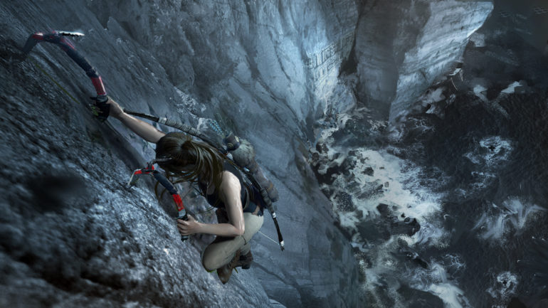Shadow of the Tomb Raider - climbing