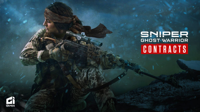 Sniper Ghost Warrior Contracts - key art