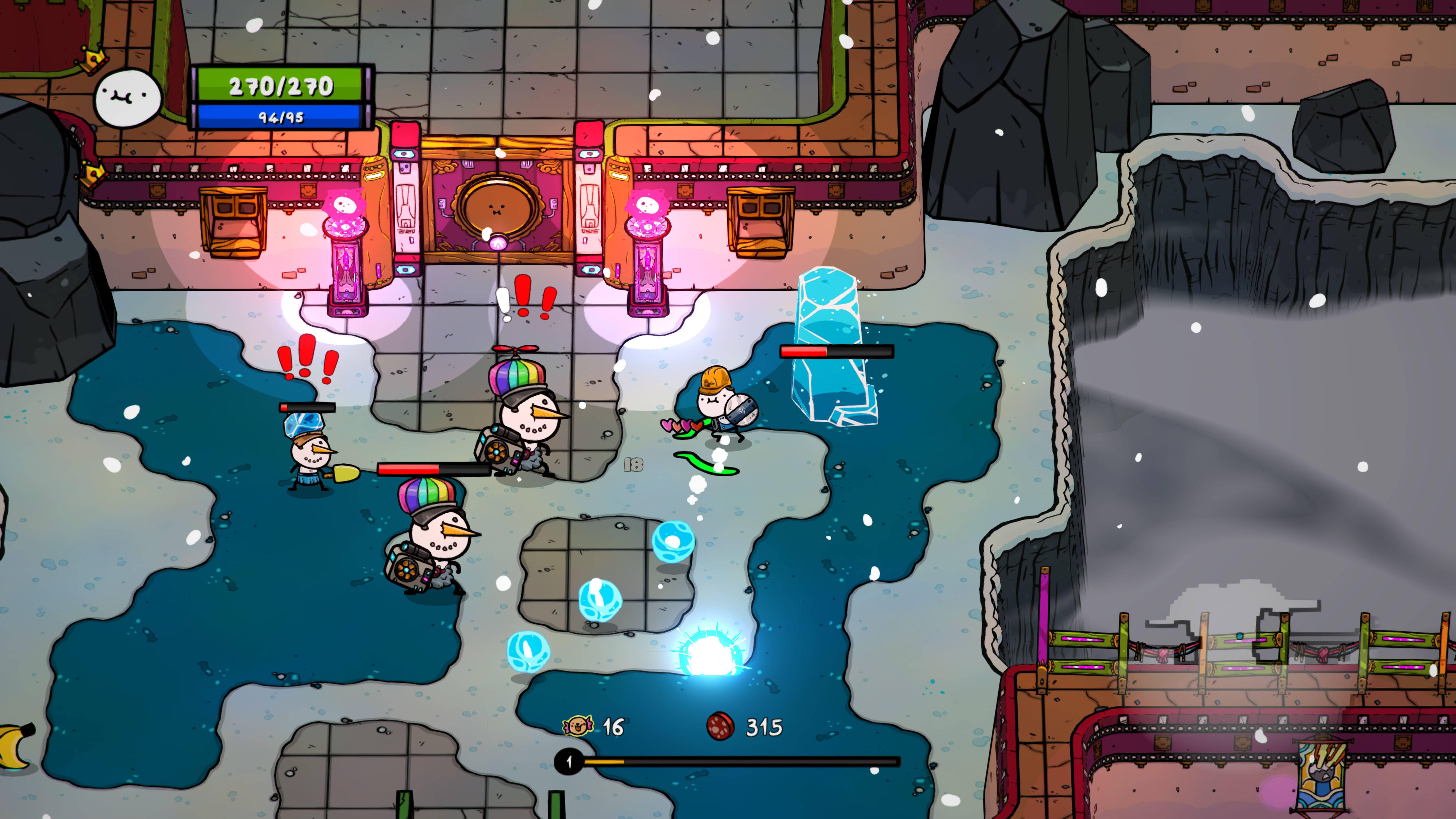 Super Cane Magic Zero - Snowman