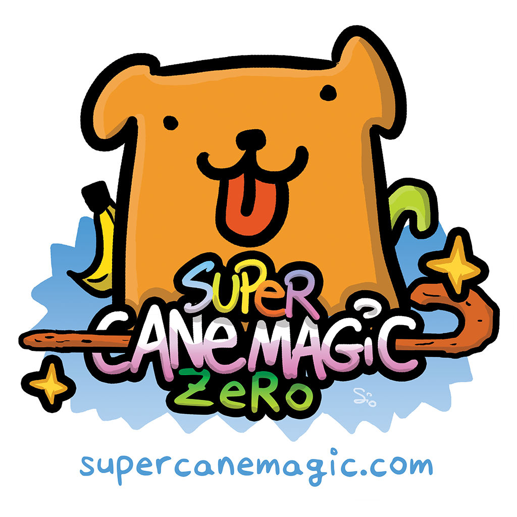 Super Cane Magic Zero - logo