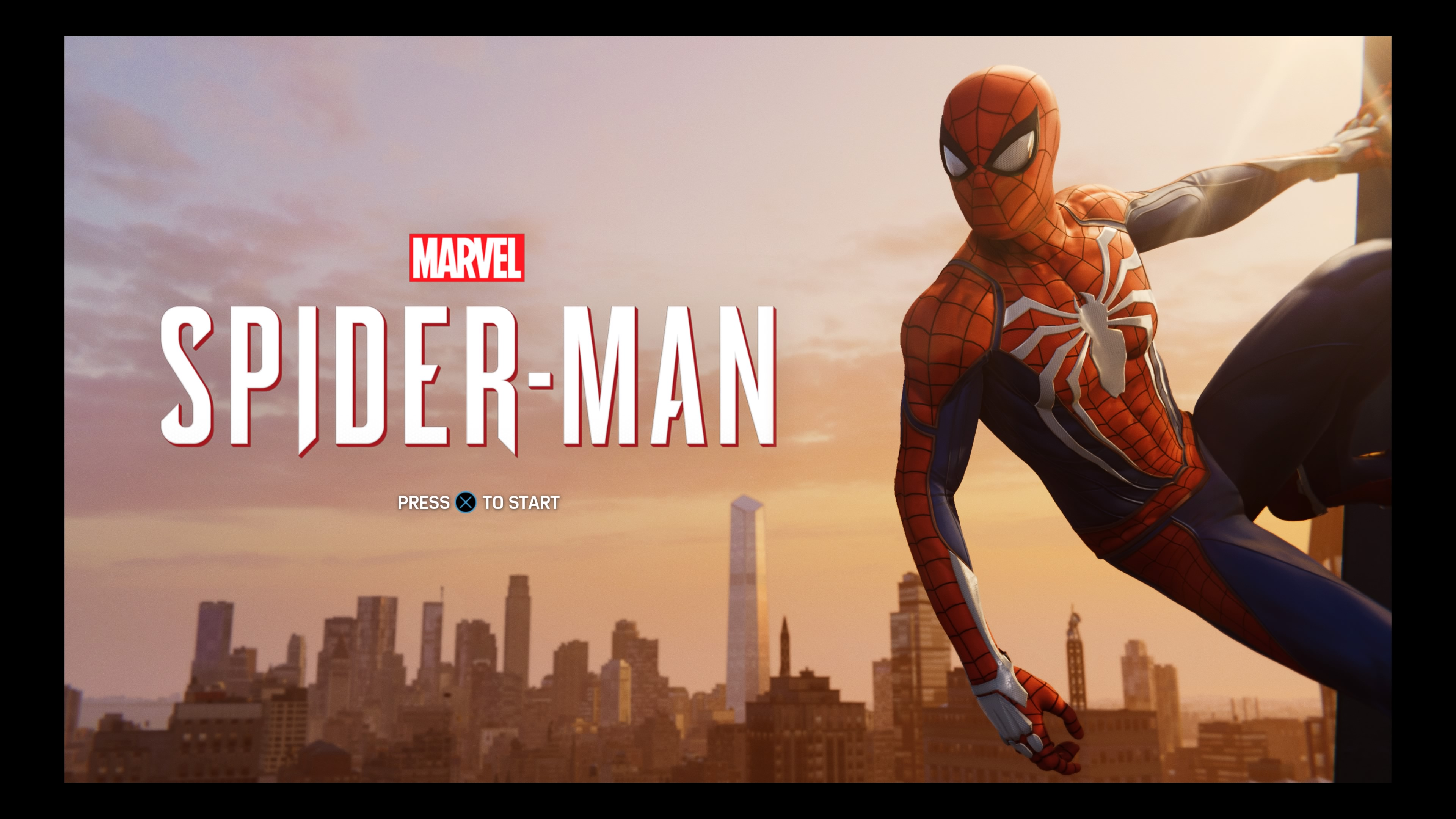 Marvel's Spider-Man - title screen