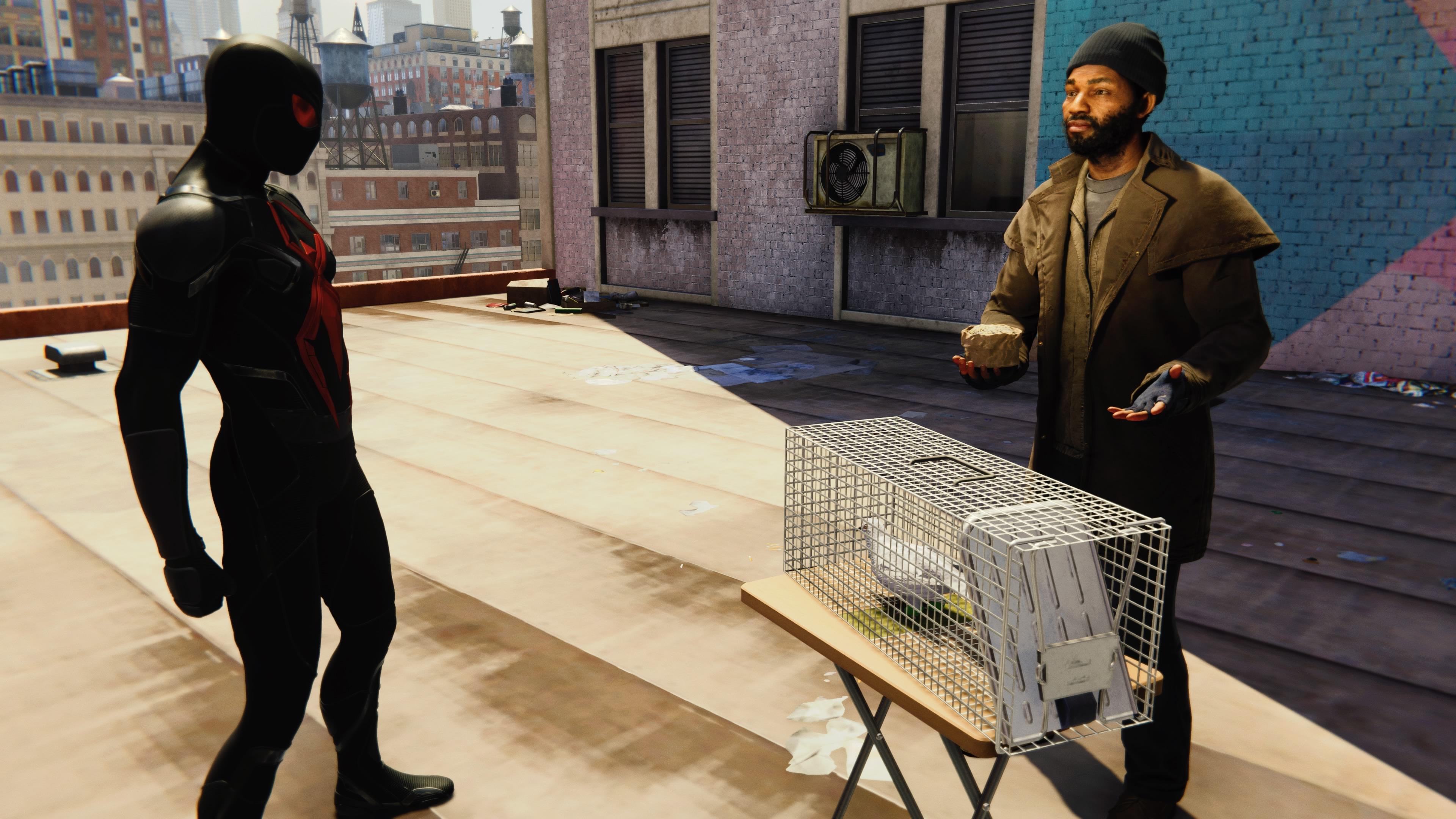 Marvel's Spider-Man - pigeons